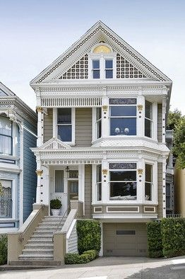 "One of San Francisco's ""Painted Ladies"""