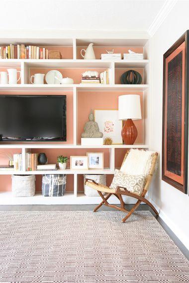 Portfolio - Samantha Gluck colors / shelves, shelf arrangements -- yummy!