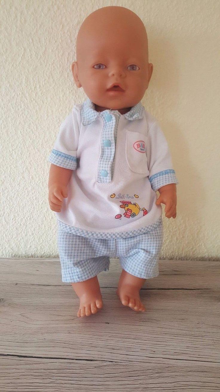 Zapf Creation Baby Born - Bekleidung - 2-Teiler Badezeit T-Shirt mit Höschen in Spielzeug, Puppen & Zubehör, Babypuppen & Zubehör | eBay!