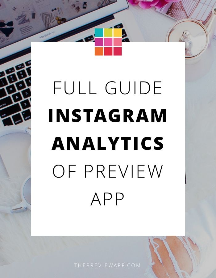 Here are the Instagram Analytics Tools in Preview App. Includes: best time to post, best time to interact, exclusive Instagram hashtag analytics + more...