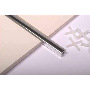 Chrome pencil strip