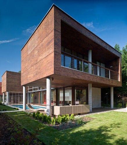 ON THE WATER: Summer Villa at Lake Balaton / FBI Studio architects. 2/1/2012 Via ArchDaily
