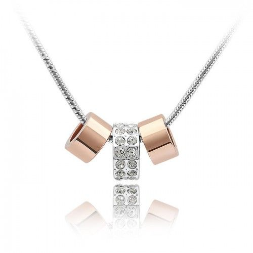 "Hurrah, today is ""Happy Friday""! Every week we post an offer with a coupon that you can use on our site. This weekend we are offering our 18K White/ Rose Gold P Three Lucky Rings Necklace for only $19.99 using the coupon WMB2078.  http://www.sparkly.com.au/women/necklaces/18k-white-rose-gold-p-three-lucky-rings-necklace.html Available till midnight Sunday 17 Nov"