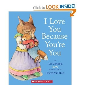 A lovely book to read to young children about how their caregivers will always love them