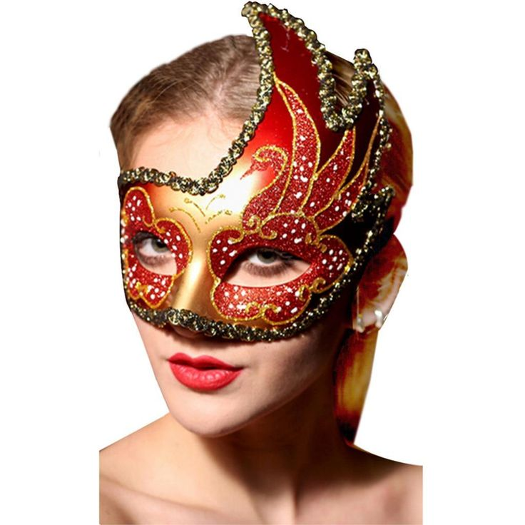 Princess Masquerade Masks Ball Colored Drawing Half Face Mask ...