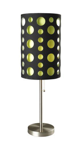 ore 9300tbkgn modern retro table lamp 33inch