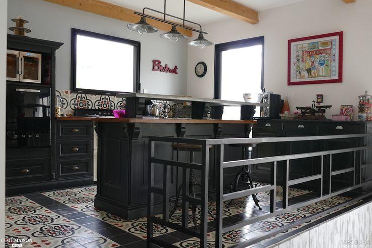 la cuisine d 39 une passionn e de d co b ziers pamela g user wohnen k che pinterest. Black Bedroom Furniture Sets. Home Design Ideas