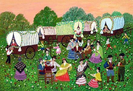 A Spring Festival by Maria Julia Fraile
