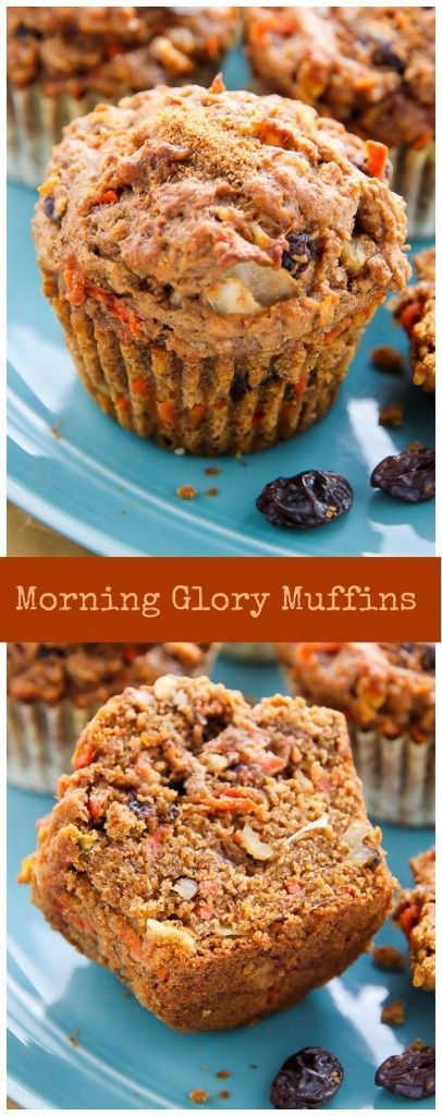 My Favorite Morning Glory Muffins! Hearty healthy and so delicious!My Favorite Morning Glory Muffins! Hearty healthy and so delicious!