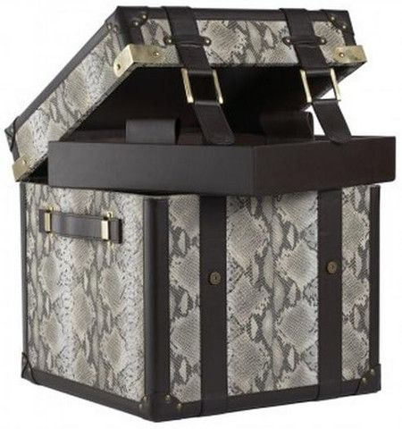 Faux Snake Steamer Trunk - Complete Pad ®