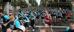 Participants in this year's HBF Run For A Reason in Perth today, Sun'. Buy or browse all images at wespix.com.au. PICTURE: NIC ELLIS   THE WEST AUSTRALIAN. TWA-0045166 © WestPix
