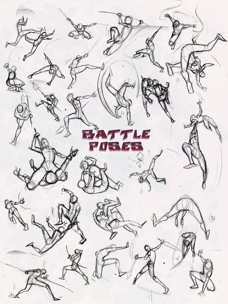 Battle Poses-  by NebulaInferno.deviantart.com on @deviantART  oh my gosh i have been searching for something like this