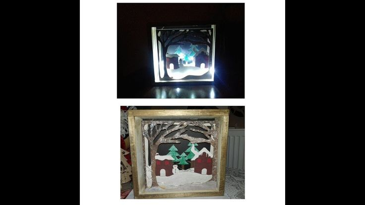 3d shadow box (Christmas project)