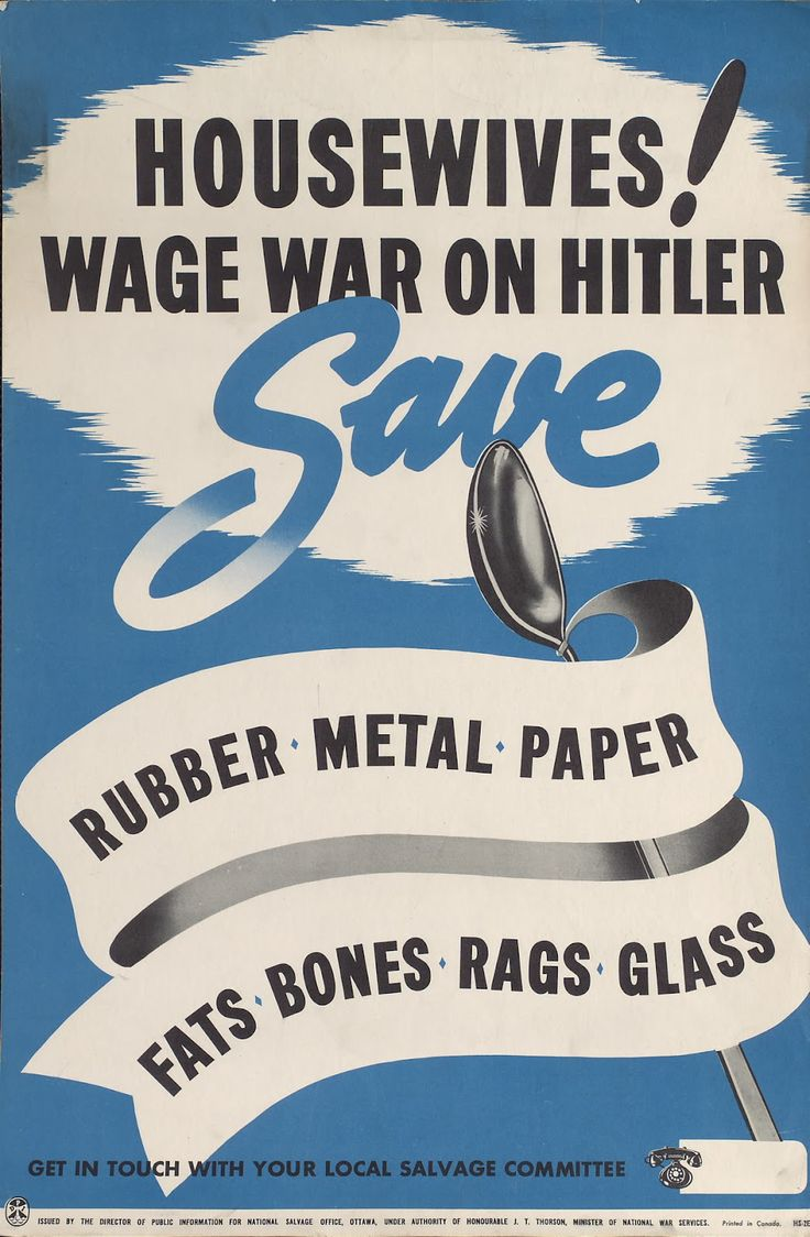 Housewives! Wage War on Hitler . Save .