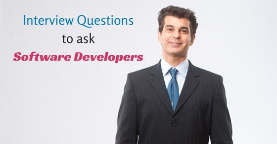 Good Interview Questions to ask #Software #Developers