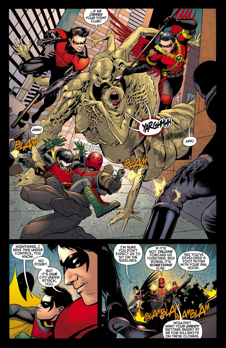 Batman and Robin (2011) Issue #12 - Read Batman and Robin (2011) Issue #12 comic online in high quality