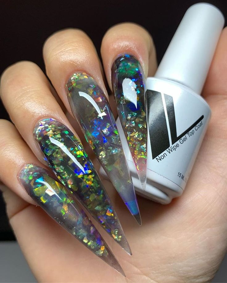 Sculpted Stiletto Nails | Nature Serie – Acrylics Ideas