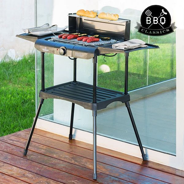 Barbecue+Elettrico+con+Gambe+BBQ+Classics+YR4
