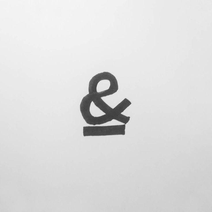 "BEMBUREDA   Design Co. (@bembureda) su Instagram: ""& come 'n' #lettering #mycalligraphy #handmadefont #typography_and_calligraphy #betype…"""