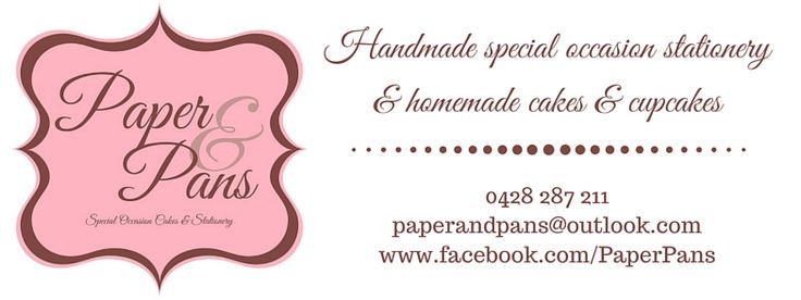 Local Townsville Based business Paper & Pans.