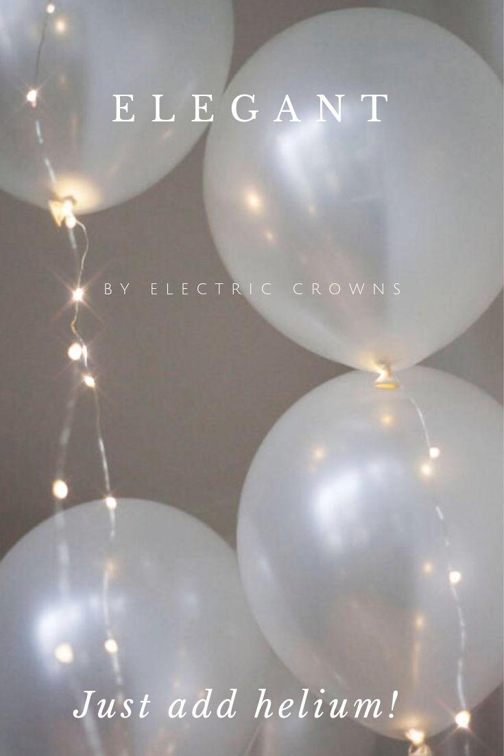 Wedding Balloons Wedding Decor Wedding Decorations Bridal Shower Decor Outdoor Wedding Backdrop Helium Balloon With Floating Lights Wedding Balloons Wedding Balloon Decorations Whimsical Wedding Decorations