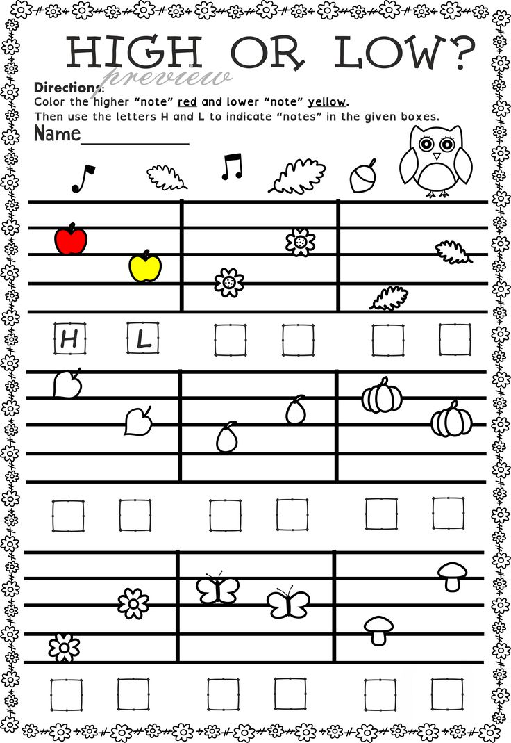 87 best Аutumn Music Activities images on Pinterest | Music theory ...
