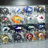 Acrylic Display Cases For Helmet