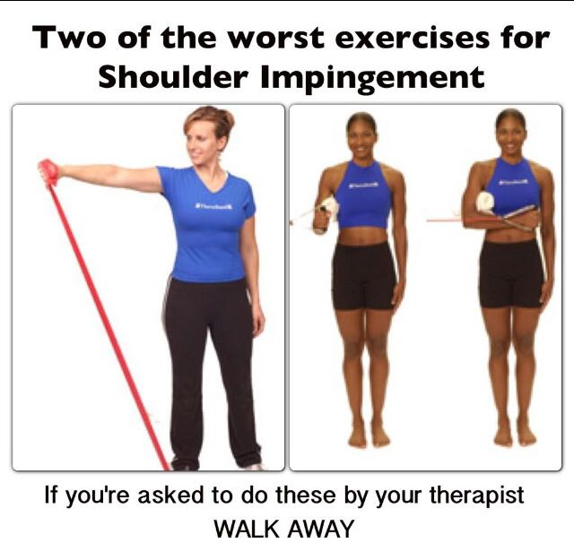 Two Of The Worst Exercises For Shoulder Impingement