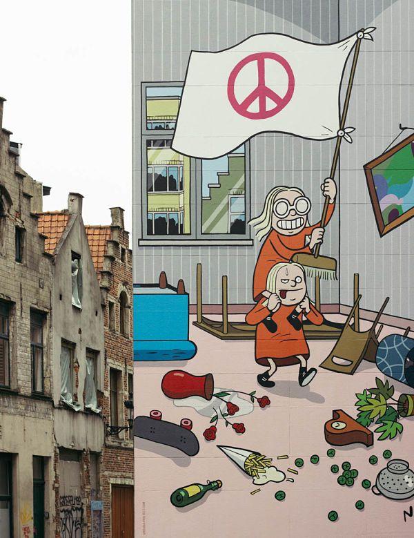 A la caza del tesoro del cómic en Bruselas – Las tres rutas del cómic