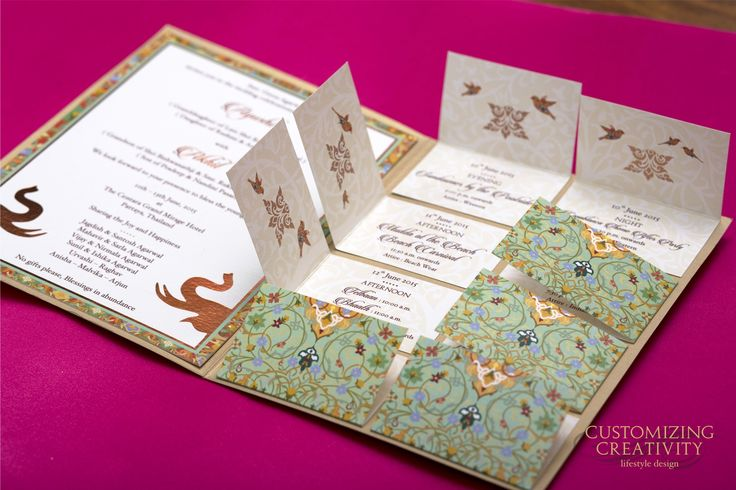 Wedding Invitation cards, Indian wedding cards, invites, Wedding Stationery, Customized invitations, Custom Invites, Stationery, Designer cards, Gold Foiling, Laser Cutting, Indian prints, letterpress, Indian Wedding, Save the Date, Custom Stationery, Mumbai, India, WedMeGood, Maharani Weddings, Indian Wedding Site, E : info@customizingcreativity.in FB: dishamehtadesign Instagram: customizing_creativity M : +91-9819203251