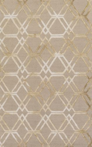 Beige Geometric Rug From Surya S New Serafina Collection Srf 2017
