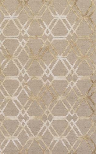 Beige, geometric rug from Surya's new Serafina collection (SRF-2015).