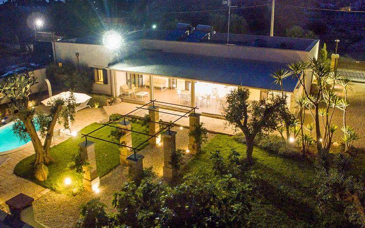 Il giardino notturno di Villa Patrizia
