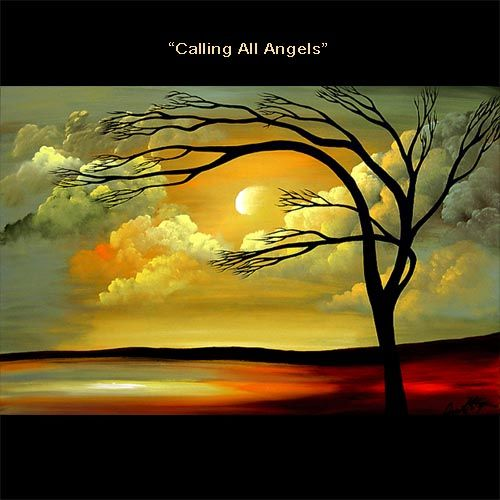 Landscape Painting - Calling All Angels #3282