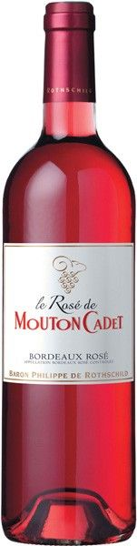 Baron Philippe de Rothschild,Mouton Cadet Bordeaux Rose   Wine-Now.com