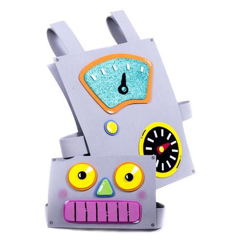 disfraz goma eva robot