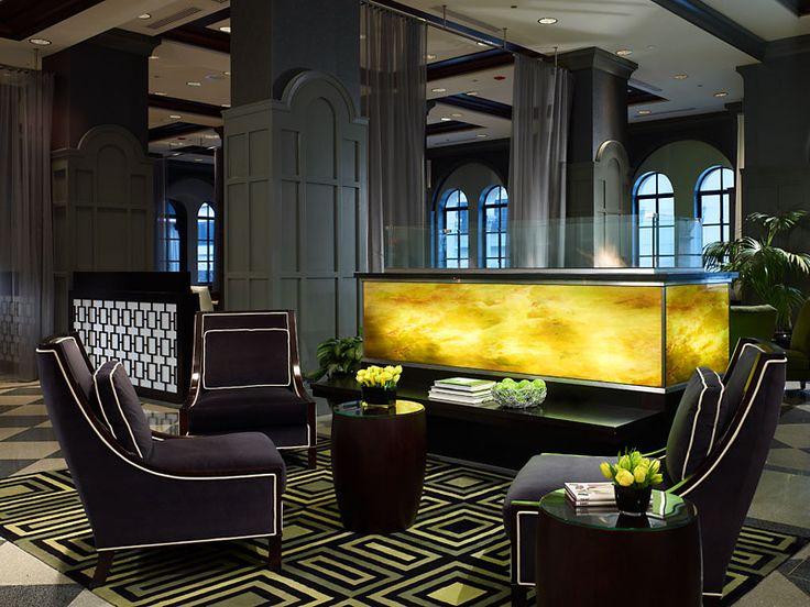 Echanting Of Art Deco Interior Elegant Design The Allerton Hotel Chicago