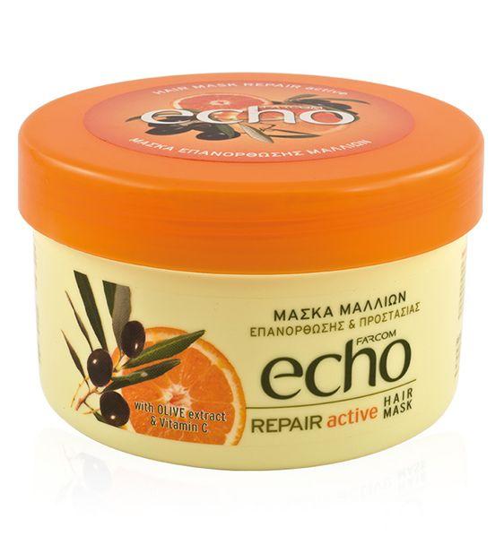 Farcom ECHO Μάσκα Μαλλιών – Επανόρθωση Προστασία 500ml  http://hairbeautycorner.gr/κατάστημα/farcom-echo-μάσκα-μαλλιών-επανόρθωση-προστα/
