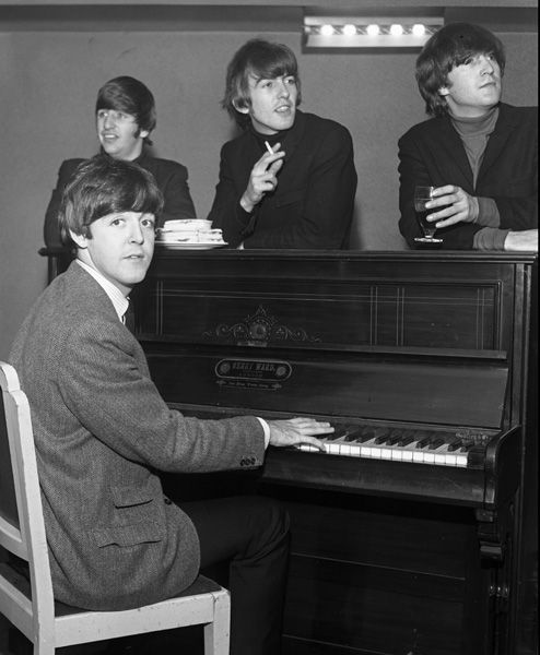 The Beatles at the Gaumont Theater on December, 21, 1963 The Beatles were there…