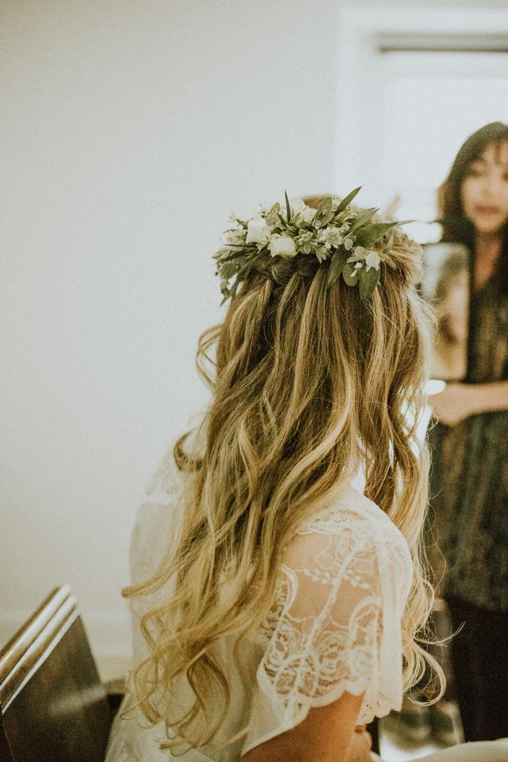glasshouse wedding at anran in devon | bridal hair | wedding