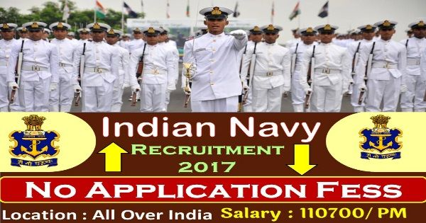 Indian Navy InvitesOnline Applications from, those people satisfying certain pre define requirements for filling current job for the Post of Officers (Executive & Technical Branches). Interested applicants need not get worried as associated details regarding the Indian Navy Recruitment 2017 – 2018 is provided and explain here. Interested aspirants people can get information for vacancy …