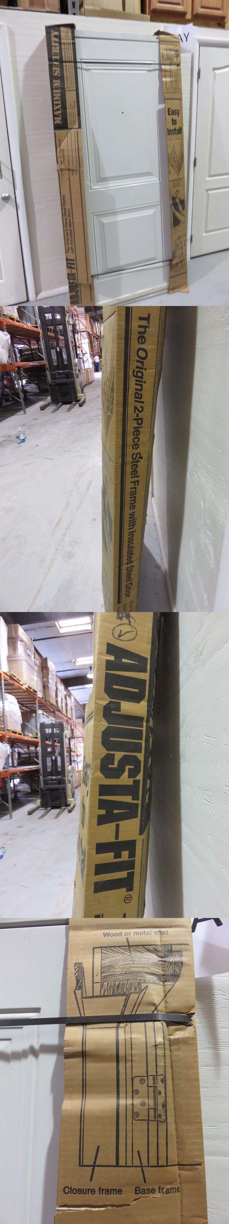 Doors 85892: Adjusta-Fit Pre-Hung Steel Exterior Door 36 X 80 Right Hand - Commercial Grade -> BUY IT NOW ONLY: $150 on eBay!