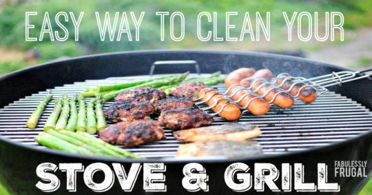 How to clean Stove Top Grates With Ammonia