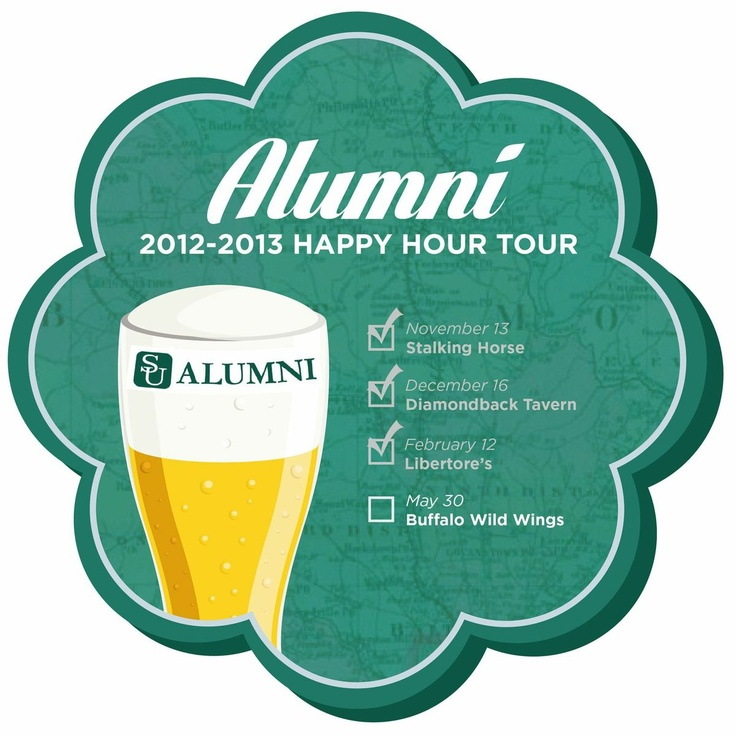 Check out our next stop on the Alumni Happy Hour tour, Buffalo Wild Wings in Urbana, MD on Thursday, May 30th. Be sure to RSVP today!