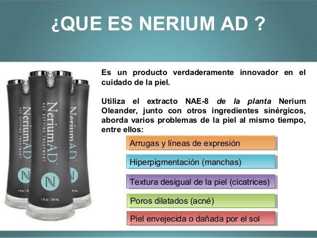 que es nerium AD international en español - Buscar con Google