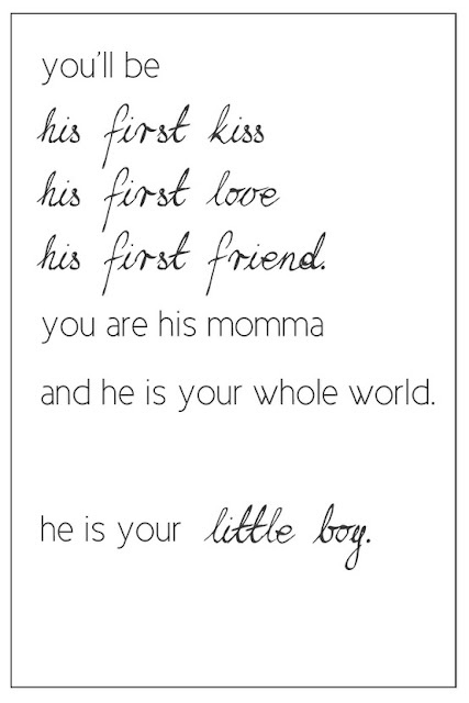 i tell myself this all the time! love my baby