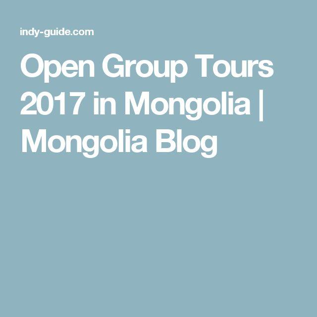 Open Group Tours 2017 in Mongolia | Mongolia Blog