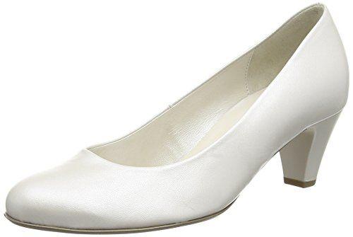 Gabor Vesta 2, Damen Geschlossene Pumps , Elfenbein - Off White (Off White Pearlised Leather) - Größe: 35.5 EU (3 UK ) - http://on-line-kaufen.de/gabor/35-5-eu-3-uk-gabor-vesta-2-damen-geschlossene-pumps