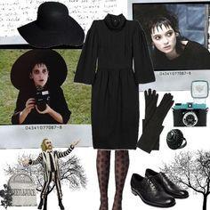 lydia beetlejuice costume diy - Google Search                              …