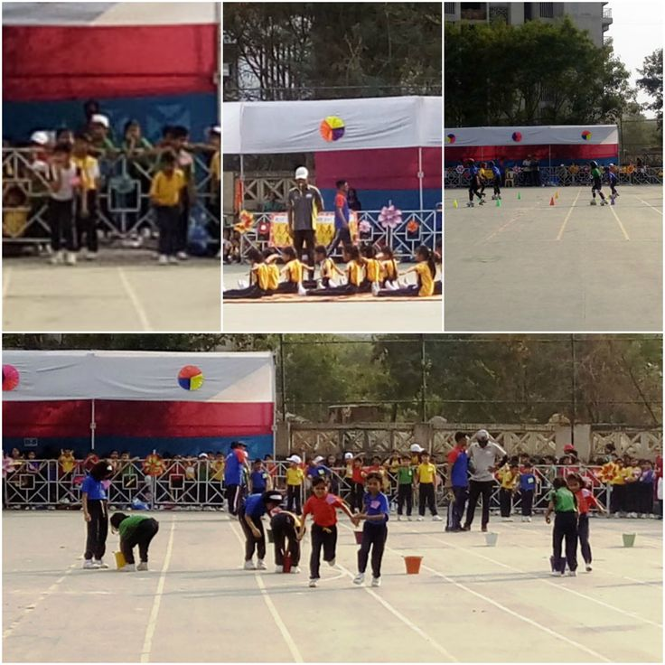 The Annual Sports Meet of the primary section was held on Jan 2017.